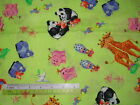*Choose design - Noah's ark animals children cotton quilting fabric