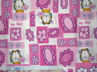 *Choose design - Garfield cotton quilting fabric