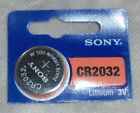 Freshest CR2032 Lithium 3V SONY EXP 2025 1/2/3/5/10 OR 20 BATTERIES READ BELOW