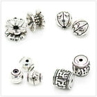 TOAOB Vintage Silver Charm Spacer beads for Necklace Bracelet