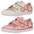 Startrite Girls Machine Washable Canvas Pumps Rosebud