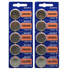 CR2025 SONY EXP 2025 Lithium 3V 1/2/3/5/10/15/20/100 BATTERIES
