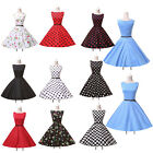 SEXY VINTAGE STYLE 1950'S SWING ROCKABILLY PIN UP PARTY TEA PROM HOUSEWIFE DRESS