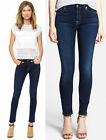 2015!!! NWT 7 SEVEN FOR ALL MANKIND JEANS ANKLE SKINNY SLIM ILLUSION NIGHT BLUE