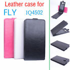 Special Design Fashion Leather Flip Case Cover for FLY IQ4502  3 Colors