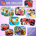 2x Disney Car Sun Shade UV Kids Baby Children Window Visor 44x35cm