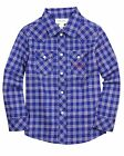 Diesel Boys' Plaid Shirt Cuffigix, Size  6, 10, 12, 14, 16