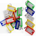 Assorted Colors Opened Case Plastic ID Tags Name Card Label Key Ring