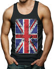 Oversize Great Britain Flag - British Pride Men's Tank Top T-shirt