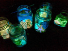 Glow in the Dark pigment Powder that is Available In 4 Amazing Colours UK SELLER