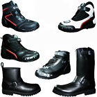Men's Motorcycle Motorbike Boots Waterproof Leather Biker Touring Shoes Boots