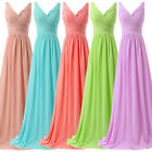 FREE SHIP Maternity Long Pageant Evening Party Gown FORMAL Bridesmaid Prom Dress