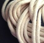 50yd /100 yd Wholesales Thick Beige Cotton Cord String Drawstring Rope 4mm CC3