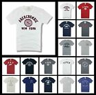 New Abercrombie & Fitch by Hollister Men A&F Graphic T-Shirt Muscle Fit Size S M
