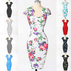 ❤ FREE SHIP ❤ NEW Swing 60's 50's VINTAGE Rockabilly Pinup Homecoming Prom Dress