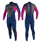 2015 O'Neill Reactor Kids Wetsuit  3 X 2  Blue Pink Wetsuit Surfing Etc