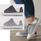 2ssg05161 spandex lace-up Canvas sneakers made in korea