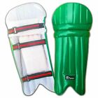 Junior Cricket / Batting Leg Guard Pads KIDS,BOYS,YOUTH Green