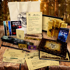 Harry Potter PERSONALISED SET! Marauders Map, Wand, Hogwarts Letter, Quill more