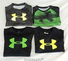 Boy's Under Armour Black Heat Gear T Shirt Size 4 15.99
