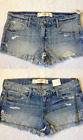 NWT Abercrombie &Fitch Women High/Mid Rise Shorts (size 4, w27, various styles)