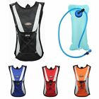 New Cycling Backpack Climbing Hydration Pack Water Pouch Hiking Bag With Bladder