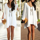 Hot! Girls Women's Summer Casual Party Evening Cocktail Short Dress White