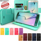 Slim Flip Leather Wallet Case Cover for iPhone Galaxy S Note LG
