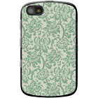 Floral Wallpaper Design Hard Case For Blackberry Models