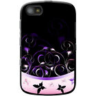 Elegant Butterfly Swirls Hard Case For Blackberry Models