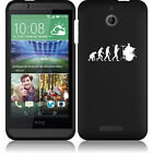 For HTC Desire 510 Rubber Hard Snap On 2 Piece Case Cover Evolution Drummer