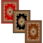 Large Traditional Oriental Area Rug Persian Style FRINGES (8x10) (5x8) - 611 FMP