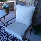 Tan Solid Cushion & Pillow Set for Patio Dining, Choose Size