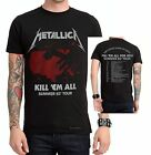 Metallica Kill 'Em All Summer Tour metal rock T-Shirt L XL 2XL 3XL NWT