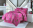 NEW LICENSED REALTREE HOT PINK FUSHIA SHEET SET ONLY CHOOSE SIZE CAMO CAMOUFLAGE