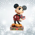 Mickey Mouse Maus Jim Shore Disney Traditions NEU 2013Love Struck Herz  4031477