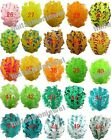 6pcs pick 25color Curly Goose nagorie feather pad appliques trims for headband