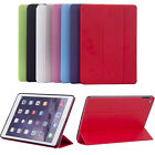 New Ultra Thin Leather Smart TPU Case Stand Cover for iPad 2 3 4 5 6 Mini Air