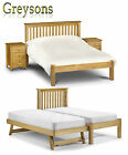 NEW Brandi Solid Pine Bed Frame - Storage / Trundle - Single / Double / Kingsize