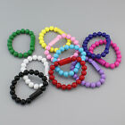 Bead Wristband Bracelet USB Data Sync Charger Cable For Android Samsung HTC LG E