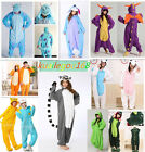 Unisex Adult Onsie Pajamas Kigurumi Cosplay Costume Animal Onesie Sleepwear Suit