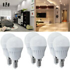 6 x 3W E14 SES LED SMD Globe Bulbs Spotlight Day Warm White Golf Ball Shape Lamp