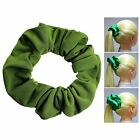 Olive Soft & Silky Scrunchie Ponytail Holder Hair Accessories  50+Colors
