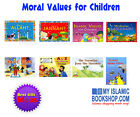 Moral Values for Children Goodword Muslim Islamic Kids Gift Stories 8 Books