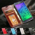NEW Leather Wallet Case Cover For Samsung Galaxy A7