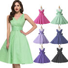GK Summer *1950S ROCKABILLY* Housewife 60s Vintage Retro Party Swing Pinup Dress