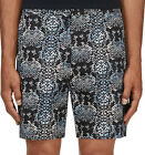 NWT Marc Jacobs Mens Rex Snake Powder Blue Floral Cotton Casual Short 30 32 $228