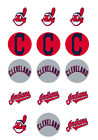 Cleveland Indians Edible Print Cupcake/Cookie Toppers Frosting Sheets 2 Sizes on Ebay