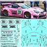 More images of 1:18 Porsche 911 GT3 RSR Pink Pig - Belcar 2006 - Decal, Decals Stickers