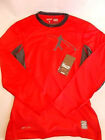 Nike Swingman Pro Combat Shirt Red Hypercool Long Sleeve 578312-659 Mens S M L